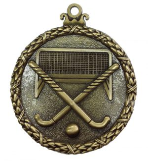 Antique hockey medal